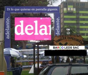 PANTALLA LED 4MX3M