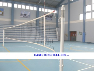 POSTES DE VOLEY TELESCOPICO