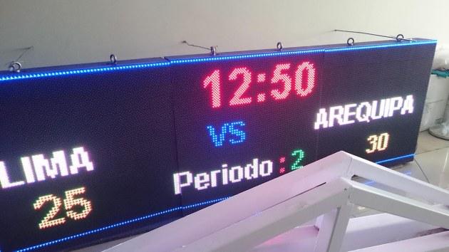 MARCADOR ELECTRONICO DEPORTIVO - BARCO LEDS SAC-peru - SPORTS SCOREBOARDS-LIMA