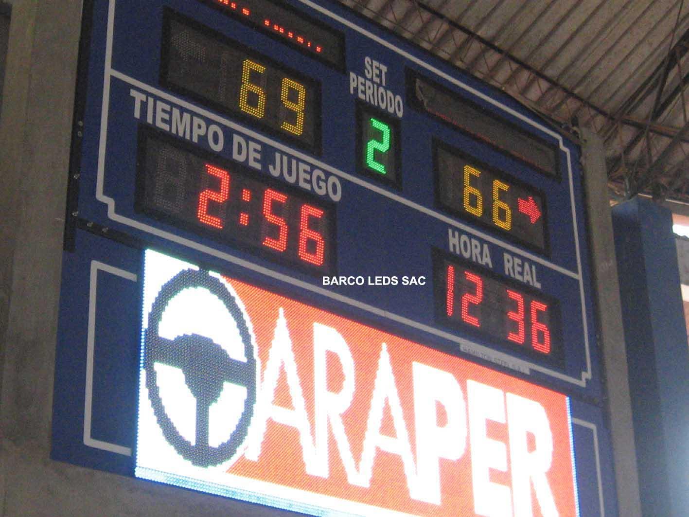 MARCADOR ELECTRONICO DEPORTIVO bcaa526115f59